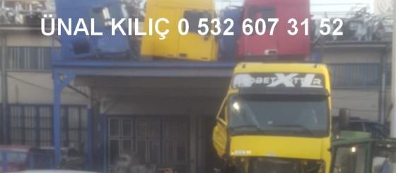 kılıç otomotiv kamyon çıkma parça